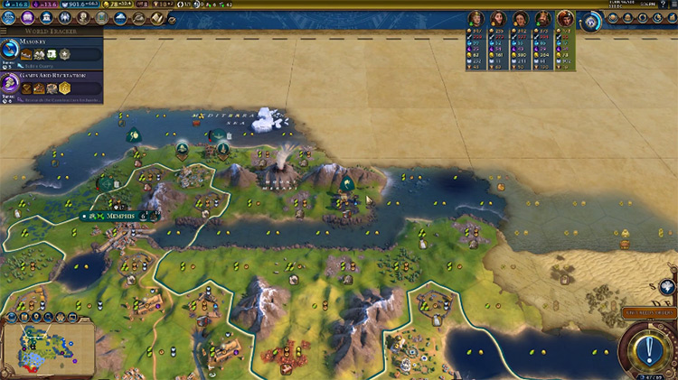 God of the Sea Pantheon in Civ6