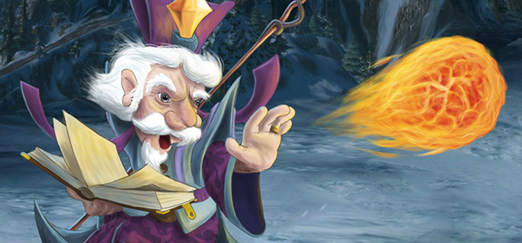 Gnome Mage digital painting by Donderbus