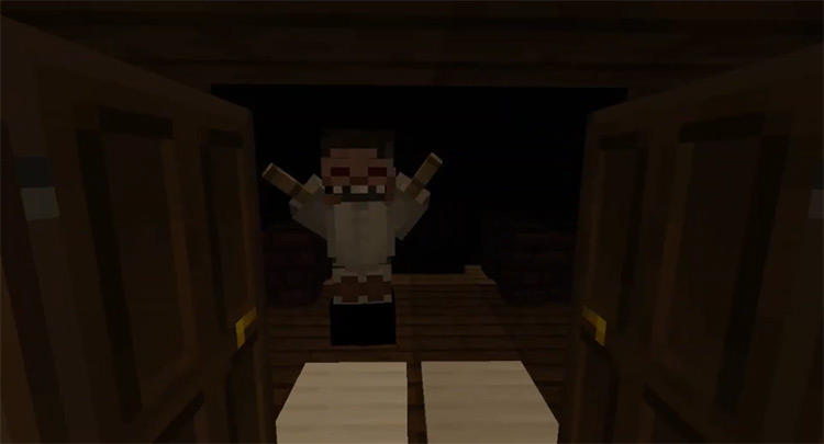 The Cannibal Map Minecraft Mod
