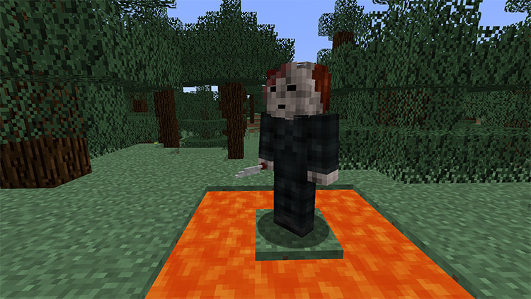 Horror Movie Monsters in Minecraft