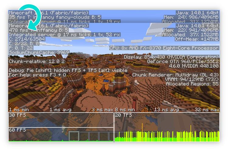 Sodium Minecraft Mod