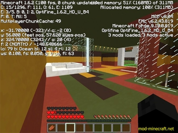 FPS Plus Minecraft Performance Mod