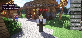Minecraft Comes Alive - modded screenshot