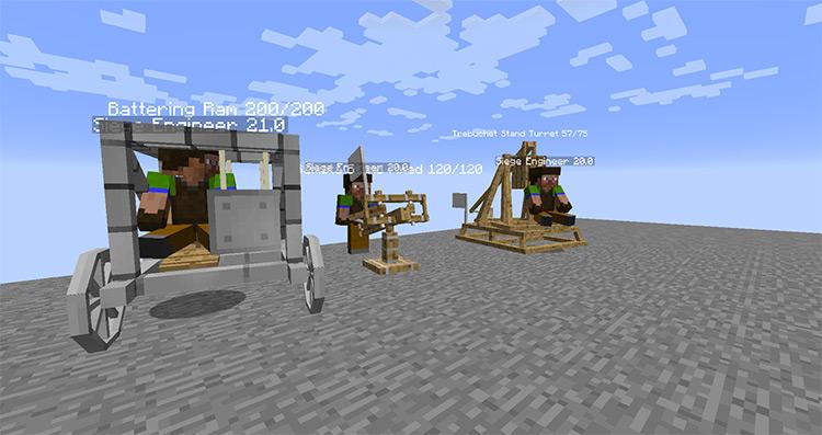 Ancient Warfare 2 Minecraft Mod