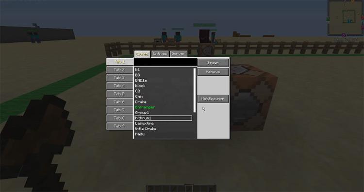 Custom NPC Spawner Minecraft Mod