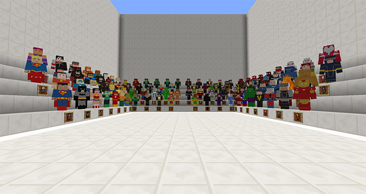 Project Superhuman Mod for Minecraft