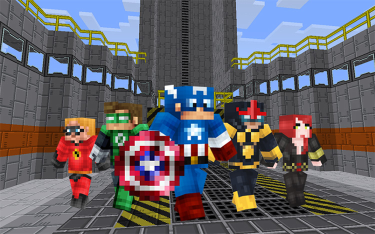 Superhero MOD for Minecraft