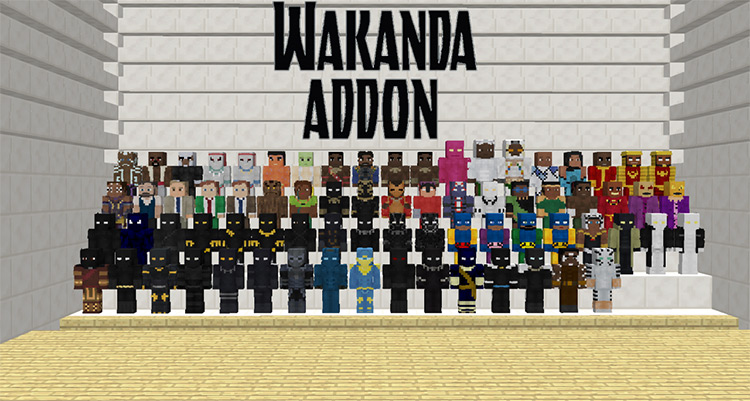 Wakanda Addonpack Minecraft Mod