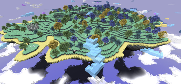 Aether II Dimension mod for Minecraft