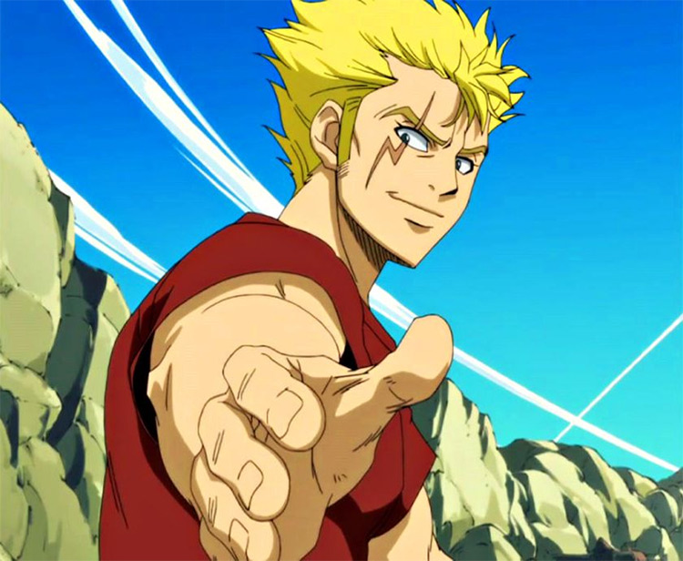 Laxus Dreyar from Fairy Tail anime