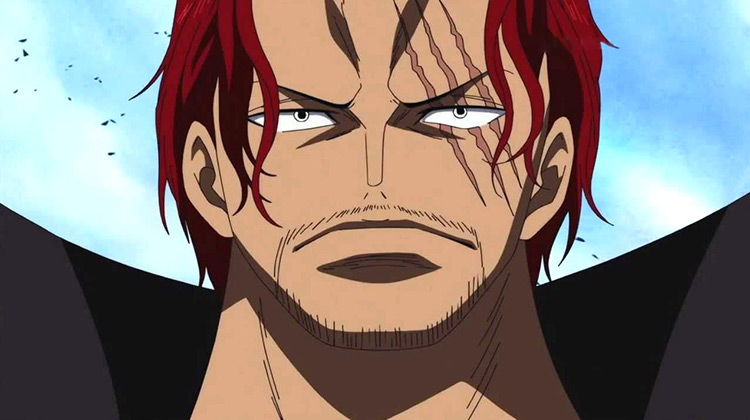 Shanks One Piece anime screenshot