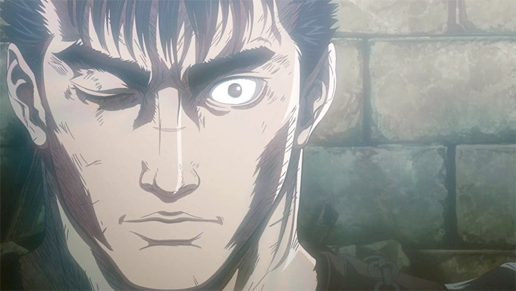 Guts from Berserk anime