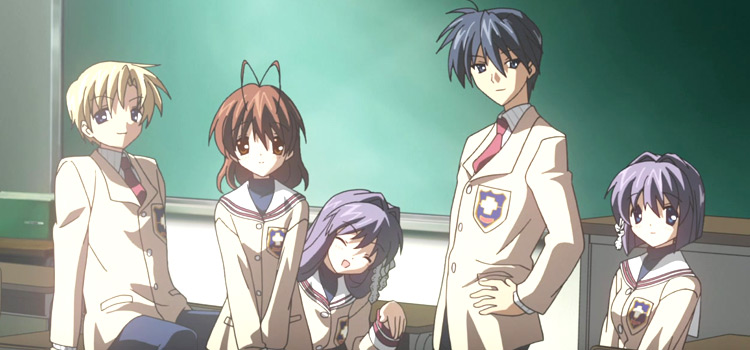 Clannad High School group screenshot