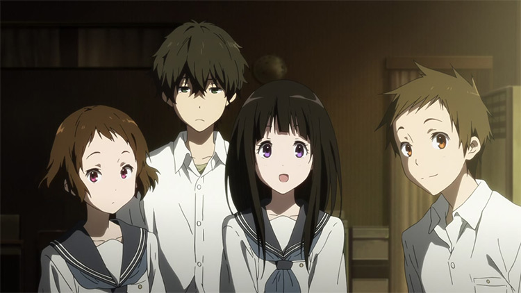 Hyouka anime screenshot