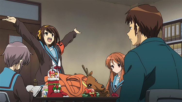 The Melancholy of Haruhi Suzumiya screenshot