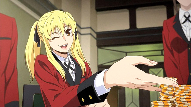 Kakegurui anime screenshot