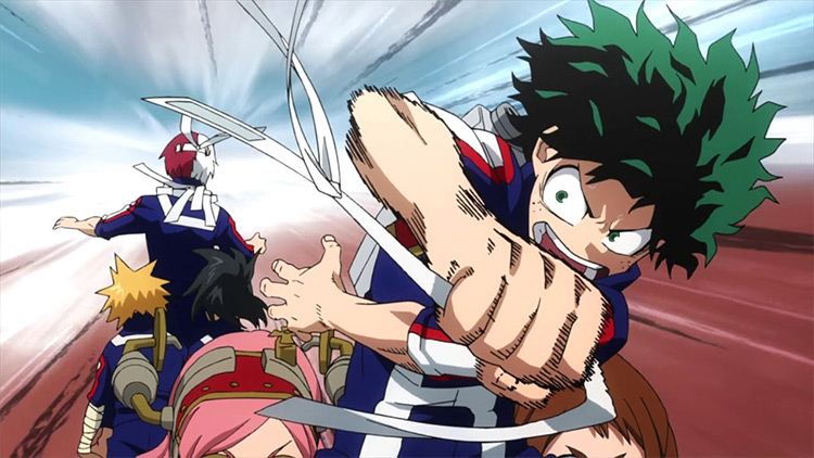 Boku no Hero Academia screenshot