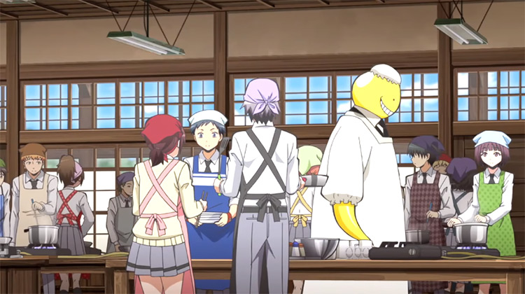 Assassination Classroom anime screenshot
