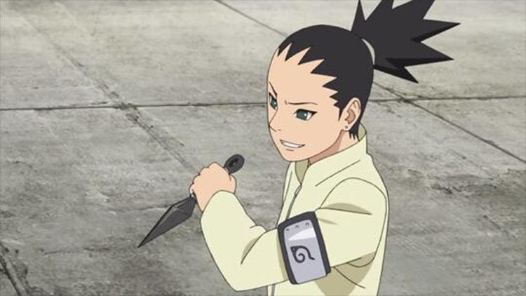Shikadai Nara from Boruto anime
