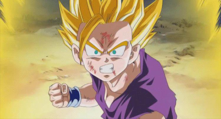 Son Gohan Dragon Ball Z anime screenshot