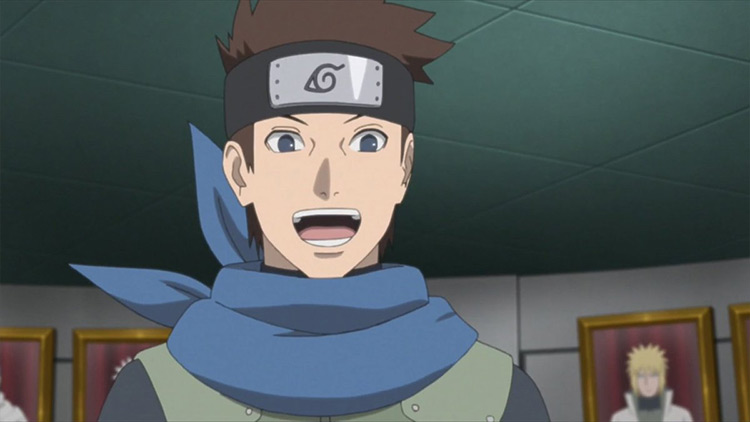 Konohamaru Sarutobi from Naruto anime
