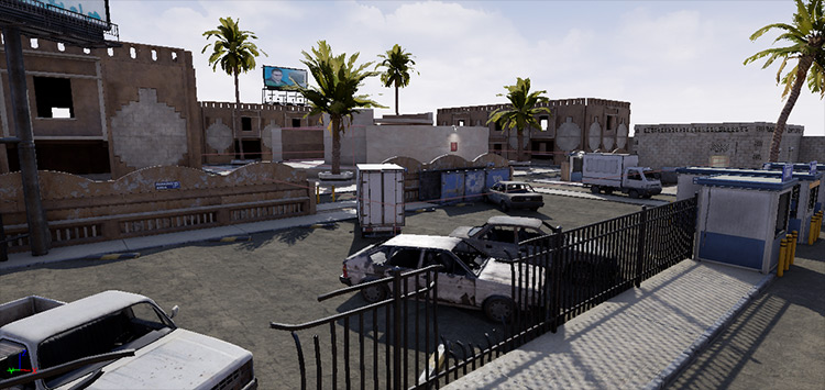 Compound City mod for Insurgency: Sandstorm