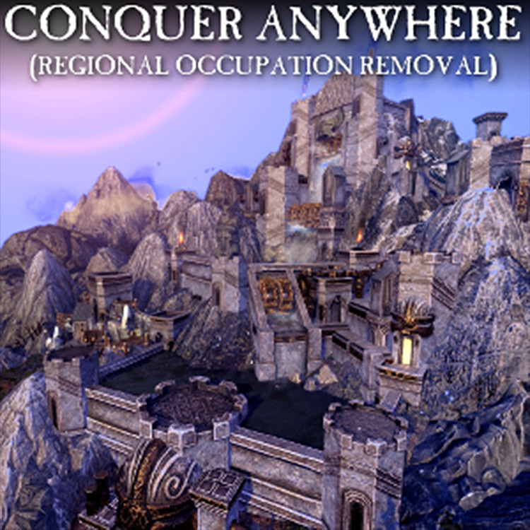 Conquer Anywhere – Regional Occupation Removal mod