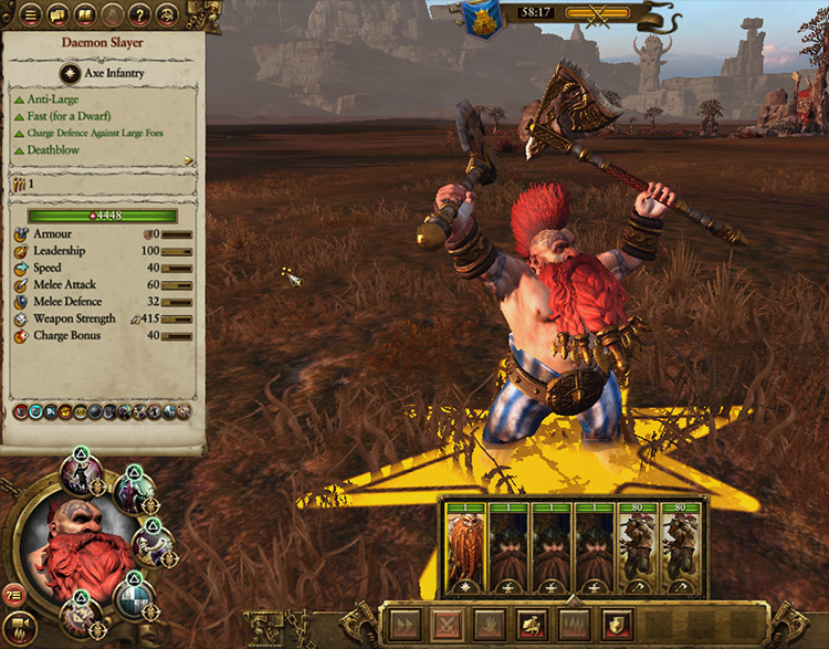 All Tabletop Lords Total War: Warhammer mod screenshot