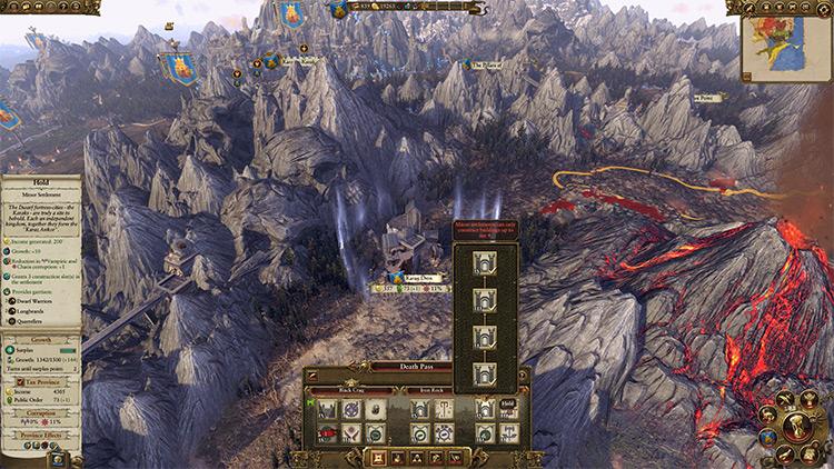Tier 4 Minor Settlements mod for Total War: Warhammer