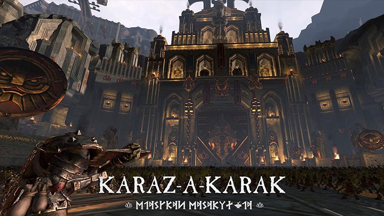 Karaz-a-Karak mod for Total War: Warhammer