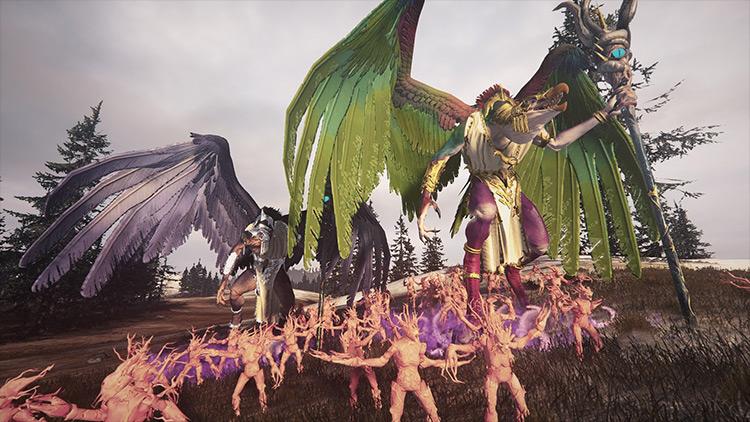 Ultimate Chaos Total War: Warhammer mod screenshot