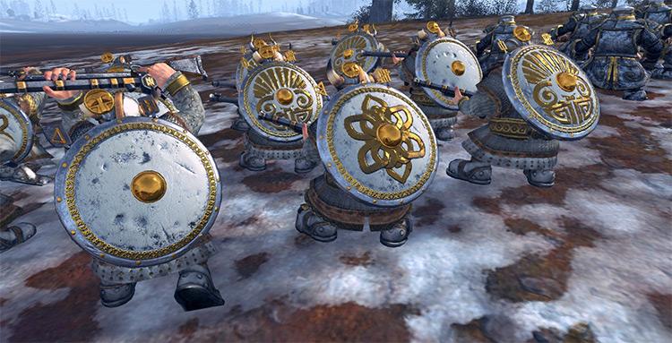 Dwarven Shields Total War: Warhammer mod