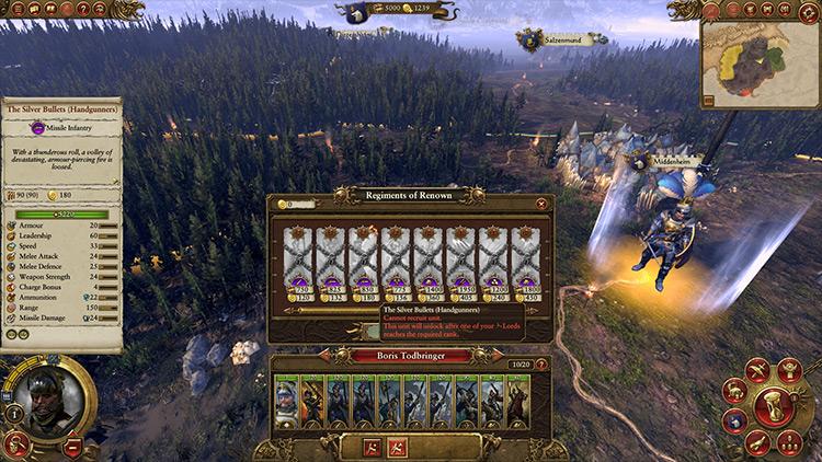 Crynsos' Faction Unlocker+ Total War: Warhammer mod