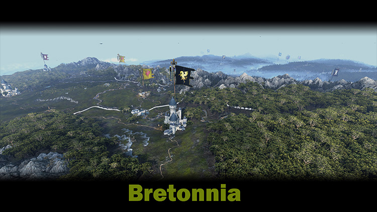 Better Campaign Map mod for Total War: Warhammer