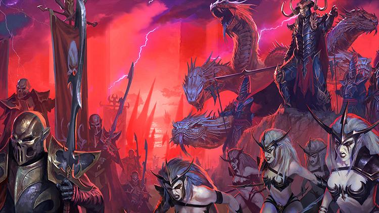 Improved Loading Screen Artwork Total War: Warhammer mod