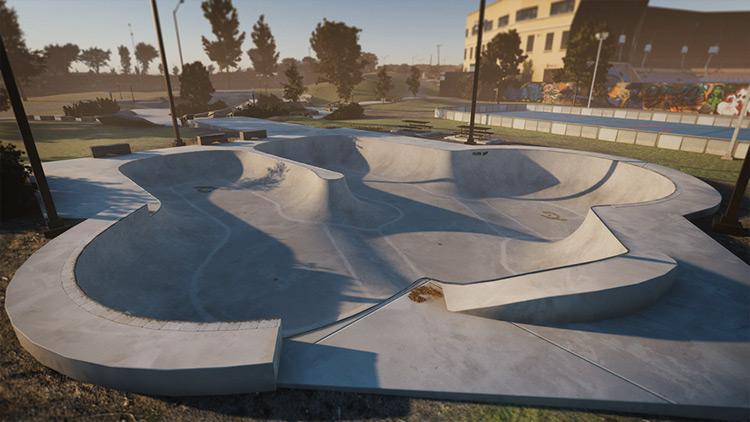 Quebec Skate Plaza Skater XL mod