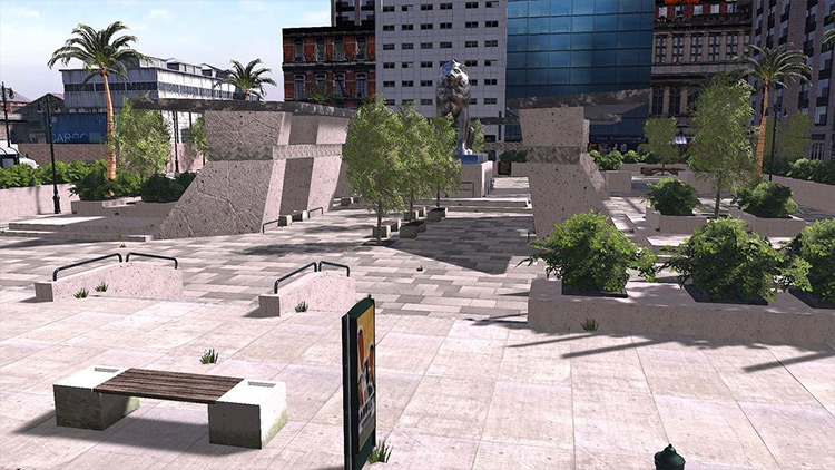 Big City Remake Skater XL mod