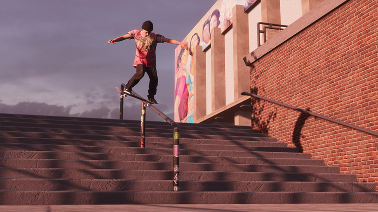 Hollywood High mod for Skater XL