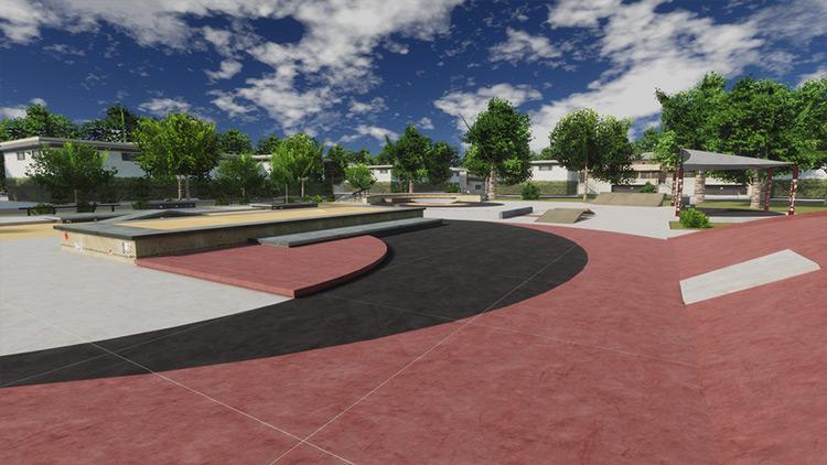 Park Compilation - Revamped Skater XL mod