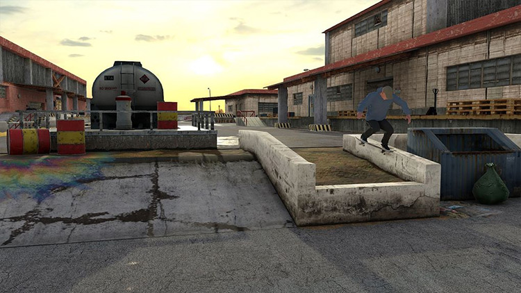 Industrial Zone mod for Skater XL