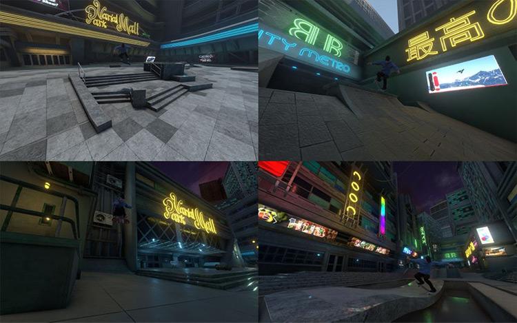Skate's Cyber Spot mod for Skater XL