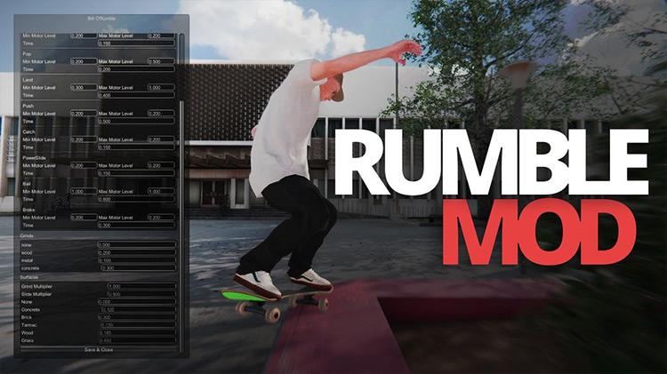 Controller Rumble Mod Skater XL screenshot