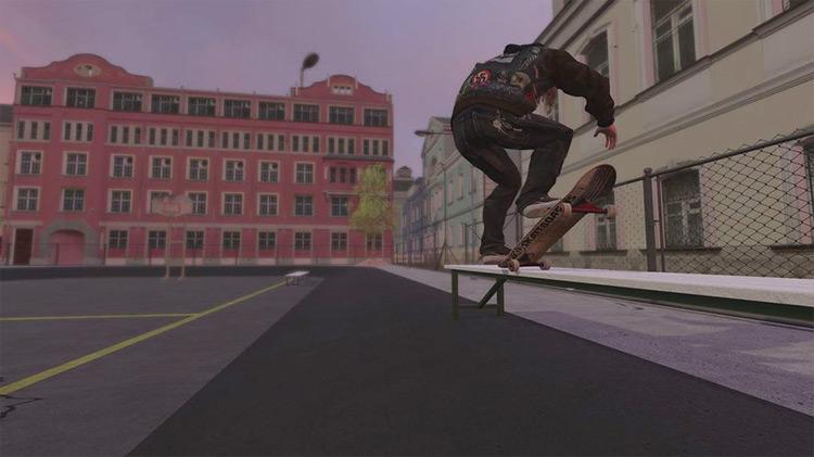 Schoolyard Day mod for Skater XL