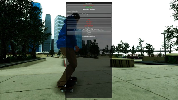Macs' Camera Utils mod for Skater XL