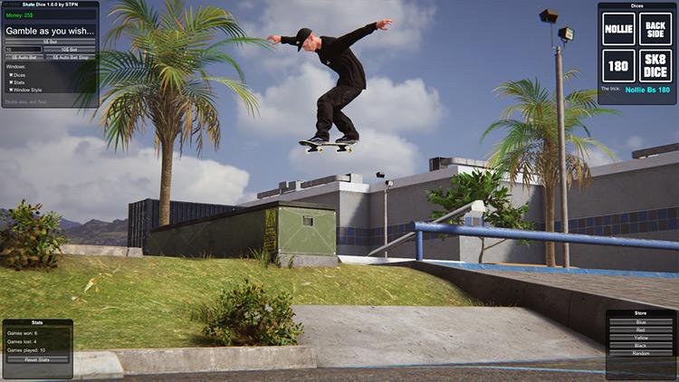 Skate Dice Skater XL mod screenshot