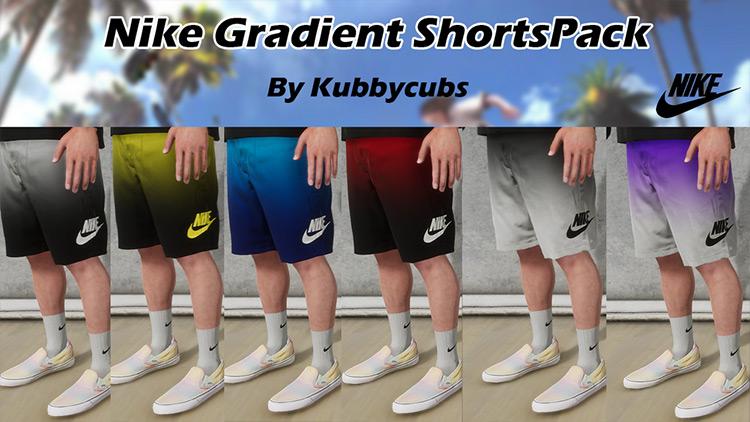 Nike Gradient Shorts Pack Skater XL mod