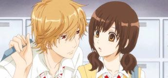 Kyouya Sata and Erika Shinohara anime couple