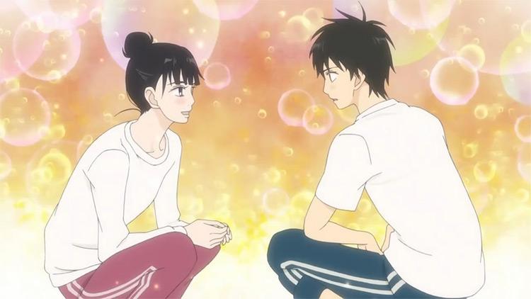 Sawako Kuronuma and Shouta Kazehaya From Me to You anime