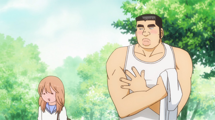 Takeo Gouda and Rinko Yamato from My Love Story anime
