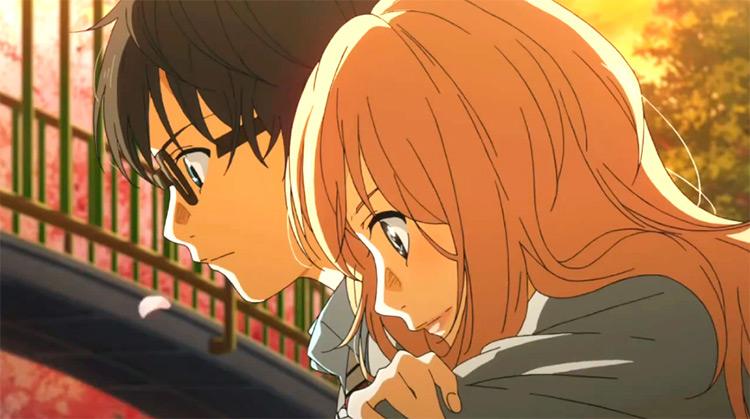 Kaori Miyazono and Kousei Arima from Your Lie In April
